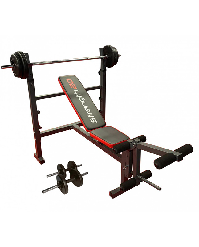 Imagen para BANCO PLANO/INCLINADO MUVO WEIGHT BENCH                                                                                          de EFE