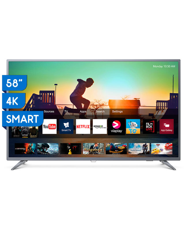 "Imagen para TV PHILIPS 58"" ULTRA HD 4K LED SMART 58PUD6513                                                                                   de EFE"