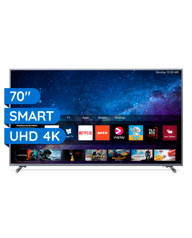 "Imagen para TV PHILIPS LED 70"" 4K UHD SMART TV 70PUD6774                                                                                     de EFE"