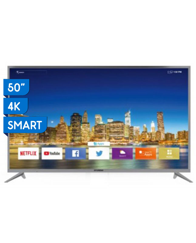 "Imagen para TV HYUNDAI 50"" ULTRA HD 4K LED SMART HYLED5012N4KM                                                                               de EFE"